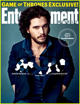 Kit Harington Covers 'EW' After Huge 'Game of Thrones' Reveal!
