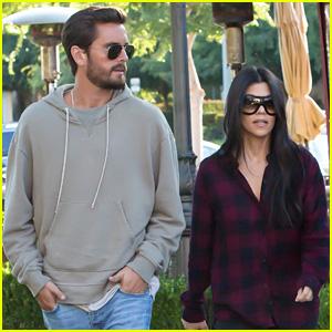 Kourtney Kardashian & Scott Disick Grab Dinner Together