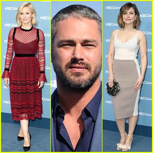 Kristen Bell, Sophia Bush, & Taylor Kinney Do Promo at NBC Upfronts 2016!