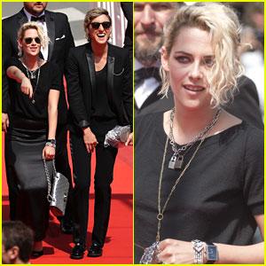 Kristen Stewart & Alicia Cargile Couple Up For 'American Honey' Cannes Premiere