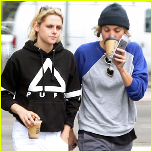 Kristen Stewart Grabs Coffee With Alicia Cargile After Soko Split