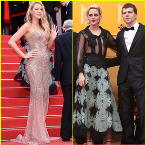 Blake Lively & Kristen Stewart Premiere 'Cafe Society' at Cannes 2016!