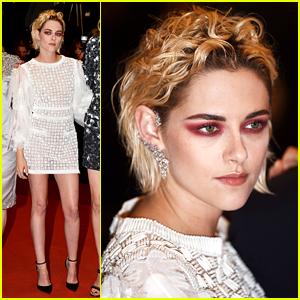 Kristen Stewart Wears Bold Eye Look to 'Personal Shopper' Premiere at Cannes 2016