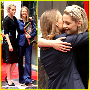 Jodie Foster Honored With Hollywood Star By Kristen Stewart