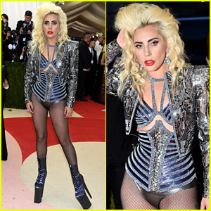 Lady Gaga Wears No Pants for Fabulous Met Gala 2016 Look!