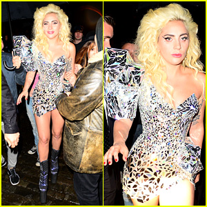 Lady Gaga Shines at Met Gala 2016 After Party