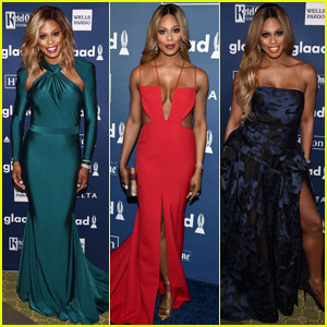 Laverne Cox Wows in Three Outfits at GLAAD Awards 2016