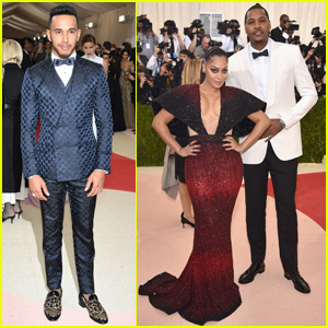 Lewis Hamilton Suits Up For Met Gala 2016