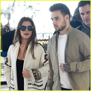 Liam Payne Jets Off to Paris With Cheryl Fernandez-Versini