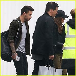 Liam Payne & Cheryl Fernandez-Versini Jet to Cannes