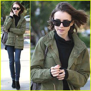 Lily Collins Chosen As 'Peter Pan' Audio Book Narrator
