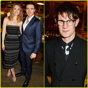 Lily James & Richard Madden Get Support From Matt Smith At 'Romeo & Juliet' After Party!