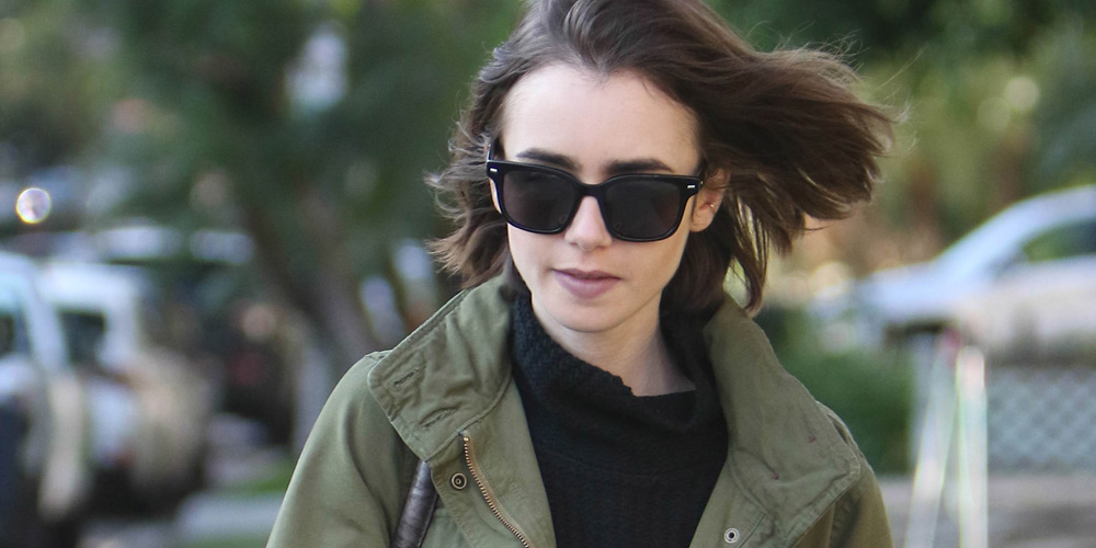 Lily Collins Chosen As...