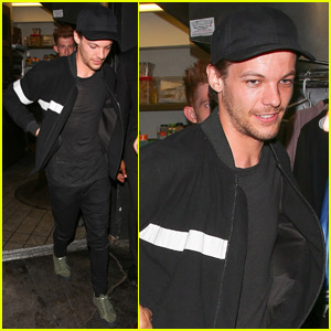 Louis Tomlinson Has a Night Out at The Nice Guy