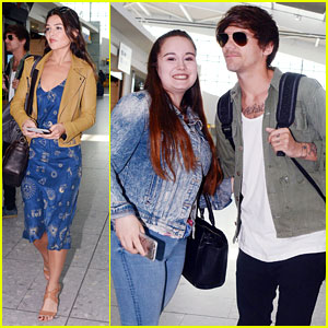 Louis Tomlinson & Danielle Campbell Head Back to LA After Wedding in London