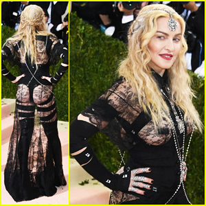 Madonna Is Cheeky In Givenchy At Met Gala 2016!