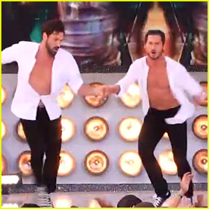 Maksim & Val Chmerkovskiy Perform Together on 'DWTS' Finale! (Video)