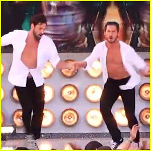 Maksim & Val Chmerkovskiy Perform Together on 'DWTS' Finale! (Video)