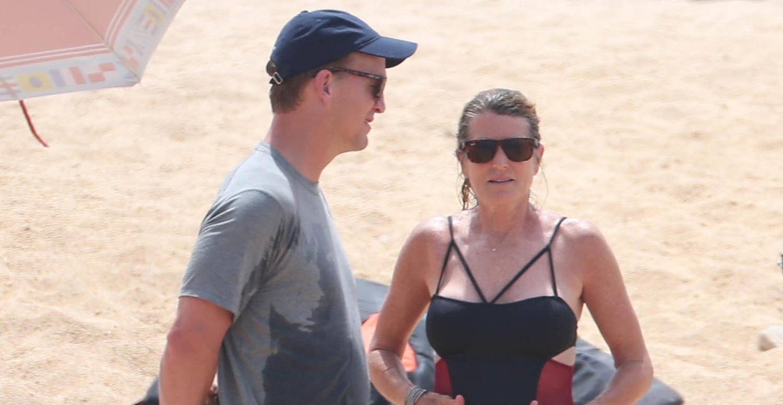 peyton manning wife. Peyton Manning Hits The Beach In Cabo With Wife Ashley! Peyton Manning Wife