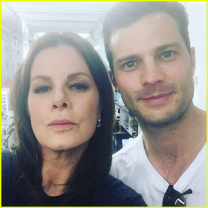 Marcia Gay Harden Shares 'Fifty Shades' Behind-the-Scenes Photos