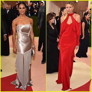 Misty Copeland & Maria Sharapova Go Glam for Met Gala 2016