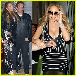 Mariah Carey Has a Fun Nobu Night Out with Jeff Beacher