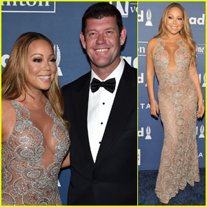 Mariah Carey Brings James Packer to GLAAD Awards 2016