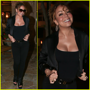 Mariah Carey Has a Pre-Mother's Day Dinner With Nick Cannon