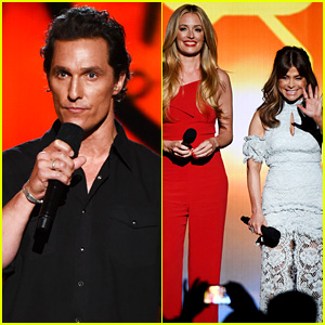 Matthew McConaughey & More Present at American Country Countdown Awards 2016
