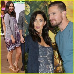 Megan Fox & Stephen Amell Bring 'TMNT' to Miami Beach