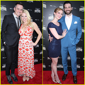 Megan Hilty & Colin Donnell Couple Up At Cirque du Soleil's 'Paramour' Opening Night!