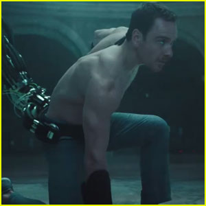 Michael Fassbender Goes Shirtless in First 'Assassin's Creed' Trailer - Watch Now!