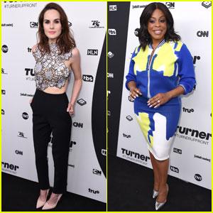 Michelle Dockery & Niecy Nash Attend Turner Upfronts 2016