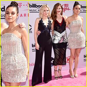 Bad Moms' Mila Kunis, Kristen Bell, & Kathryn Hahn Arrive for Billboard Music Awards 2016