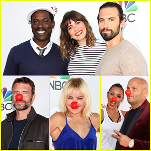 Milo Ventimiglia, Mandy Moore & Sterling K. Brown Team Up For Red Nose Day 2016!