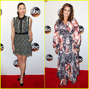 Minnie Driver Presents New Series 'Speechless' at ABC Upfronts