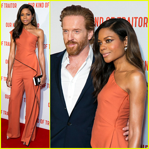 Naomie Harris & Damian Lewis Premiere 'Our Kind of Traitor'