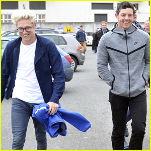 Niall Horan Hangs with Rory McIlroy Before Irish Open Win!