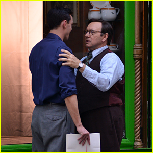 Kevin Spacey & Nicholas Hoult Continue Work on 'Rebel in the Rye'
