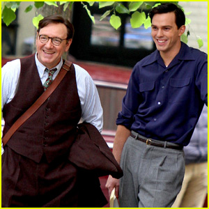 Nicholas Hoult & Kevin Spacey Start Filming 'Rebel in the Rye'