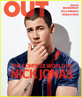 Nick Jonas Talks Writing Through a Breakup in 'Out' Magazine