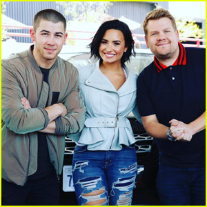 Demi Lovato & Nick Jonas' Carpool Karaoke - WATCH NOW!