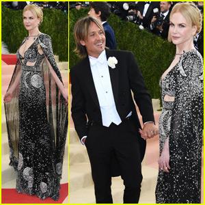 Nicole Kidman & Keith Urban Couple Up at Met Gala