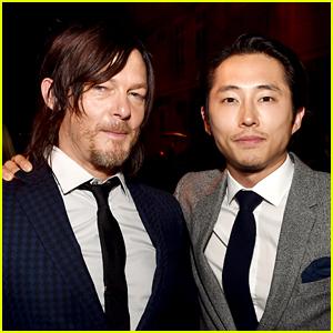 Walking Dead's Norman Reedus & Steven Yeun Help Car Crash Victims