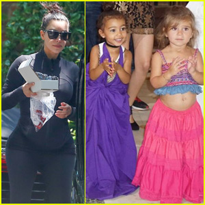 North West & Penelope Disick are Adorable Salsa Dancers