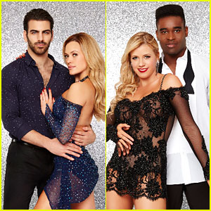 Jodie Sweetin & Nyle DiMarco Team Up For Judge's Team Challenge on DWTS