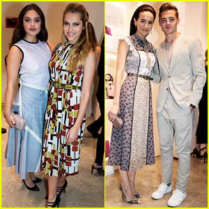 Odeya Rush & Teresa Palmer Celebrate Bottega Veneta's Store Opening!