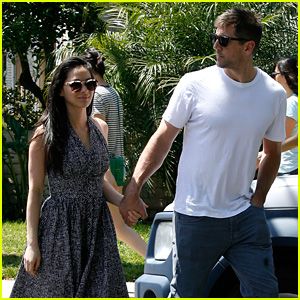Olivia Munn & Aaron Rodgers Adopt a New Puppy Together!