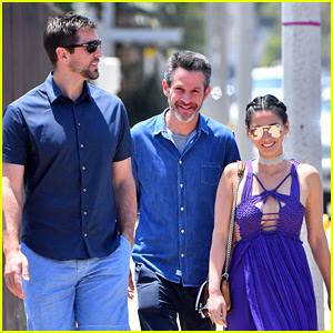Olivia Munn & Boyfriend Aaron Rodgers Attend Memorial Day Party