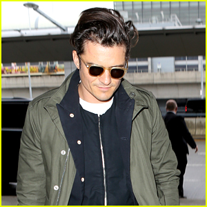 Orlando Bloom Leaves NYC Sans Tamagotchi